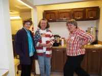 Louise Fager, Gayla Heisel & Janette Chrysler