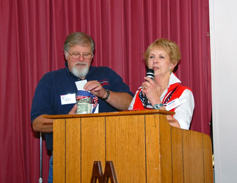 John Braasch, President, Voices for Veterans & Elaine Chandler